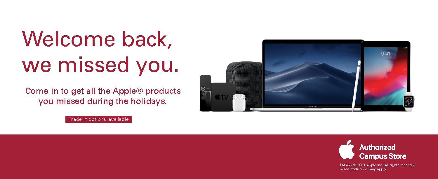 Welcome back - shop our Apple products