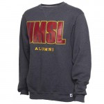 UMSL Alumni Grey Crew Neck Sweatshirt