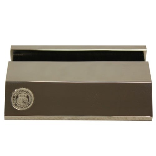 umsl official seal silver business card holder - Silver Business Card Holder