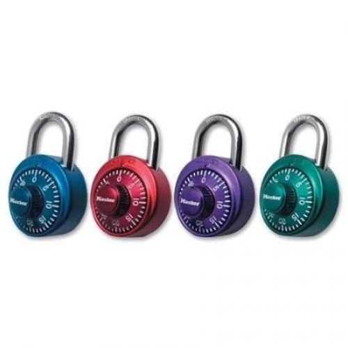 Master Lock Assorted Colors Numeric Combination Locks