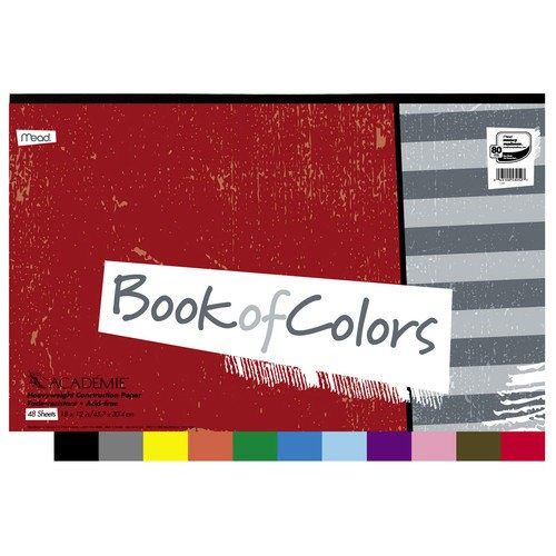 Academie Book of Construction Paper 48 Sheets