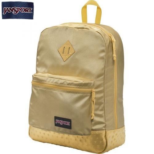 JanSport Super FX Gold Backpack Backpack Superfx Gold 3d Stars Jansport  Nonlptp