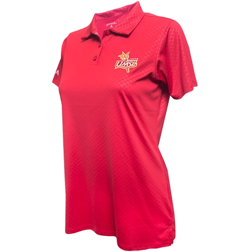 UMSL Triton Store - UMSL Tritons Antigua Women s Red Polo 46f2f385a2