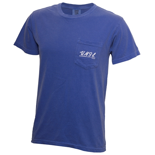 UMSL Comfort Colors Sunset Periwinkle Crew Neck T-Shirt
