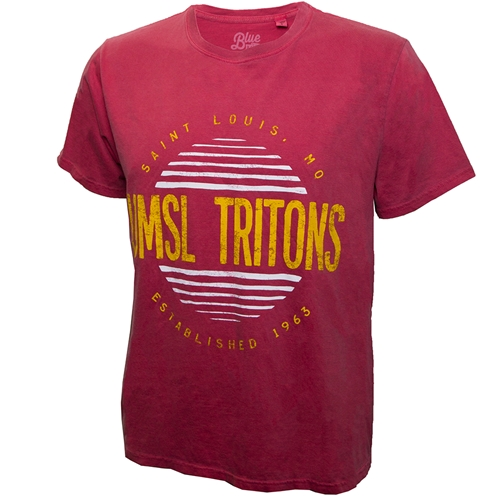 UMSL Tritons St Louis, MO Est 1963 Red T- Shirt
