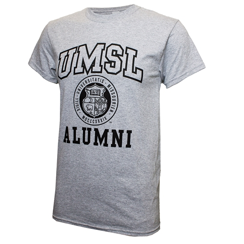 UMSL Alumni Seal Grey T-Shirt